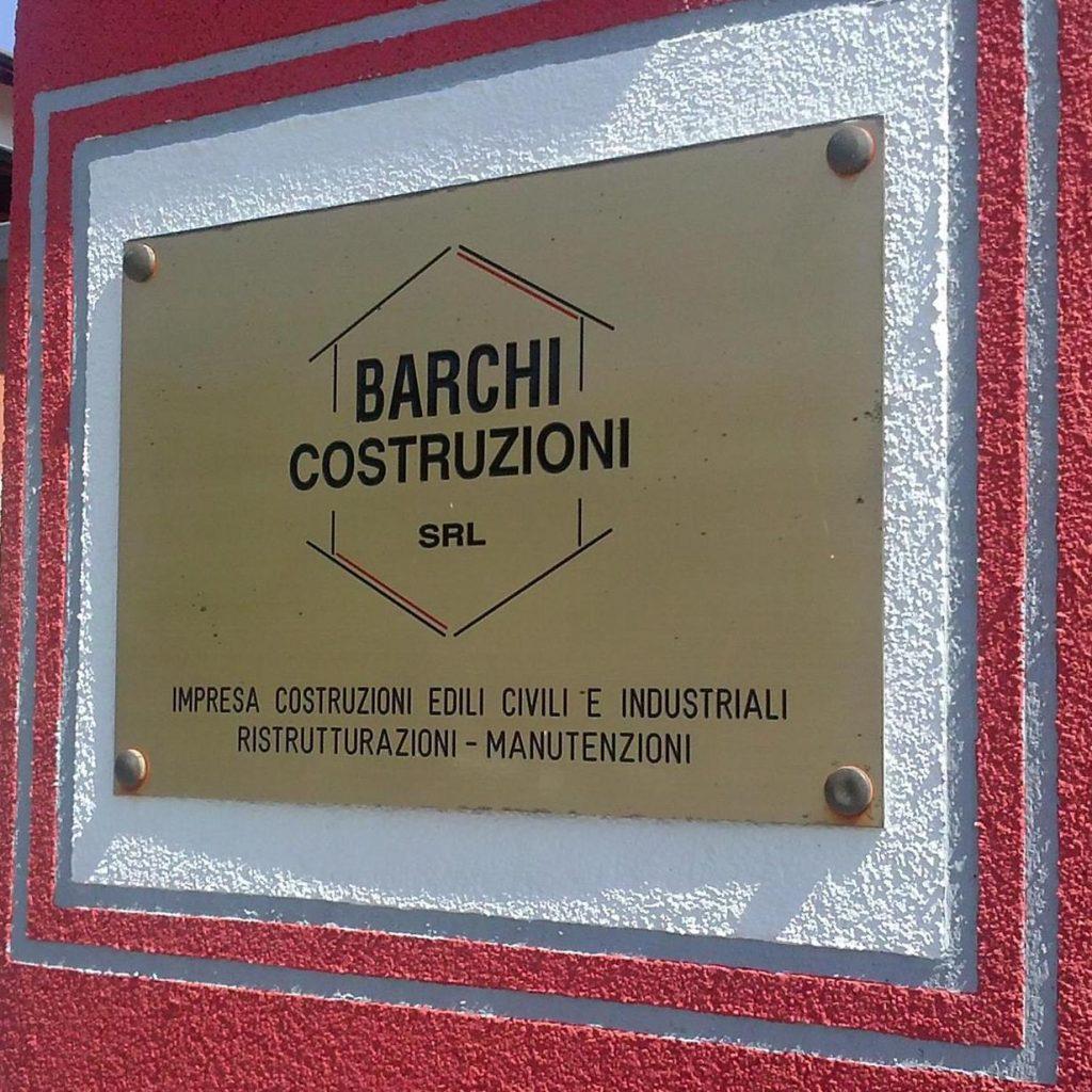 Targa Barchi Costruzioni